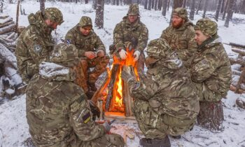 British commandos undergo extreme survival training in Norway