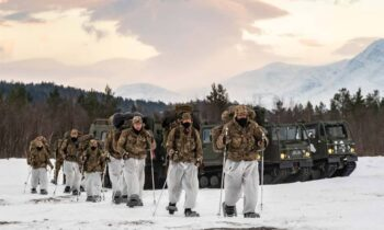 UK Royal Marines begin intensive arctic training