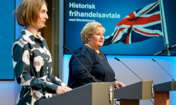 Britain strikes free trade deal with Norway, Iceland
