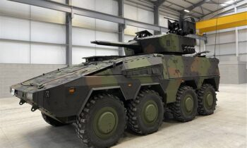 Kongsberg to test Protector RT60 remote turret mounted on Boxer 8×8 armored vehicle